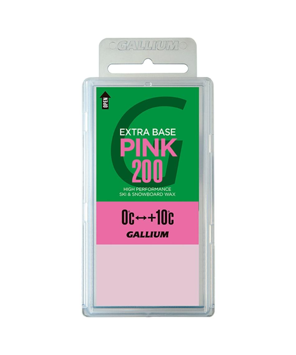ガリウム ( GALLIUM ) ワックス ベースワックス EXTRA BASE PINK 200 SW2080