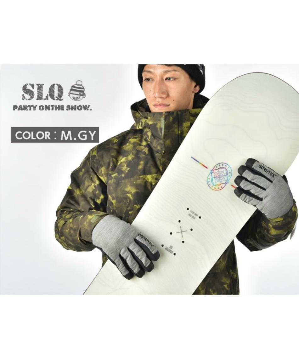 エスエルキュー ( SLQ ) スノーボードグローブ ゴアテックス ゴアウォームグローブ 5本指 8SL130201-01