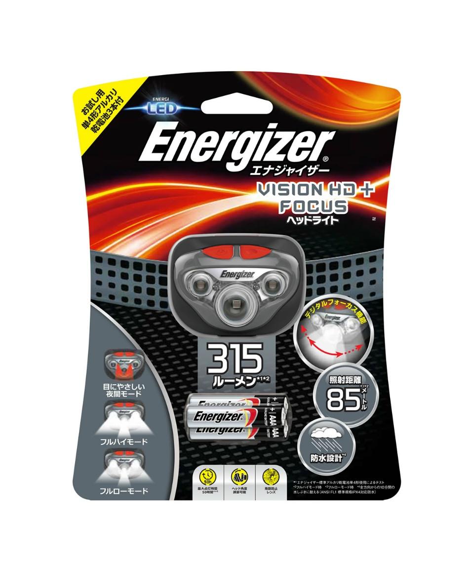 エナジャイザー ( Energizer )  ヘッドライト ヴィジョン HDL315BK