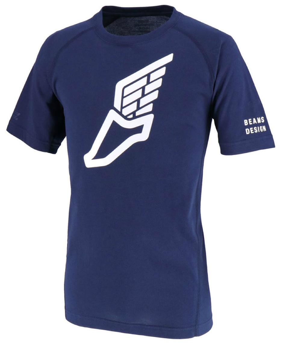 ZETT BEAMS DESIGN(ゼット ビームス デザイン) 野球 半袖Tシャツ Tシャツ ラグラン BOT392T5