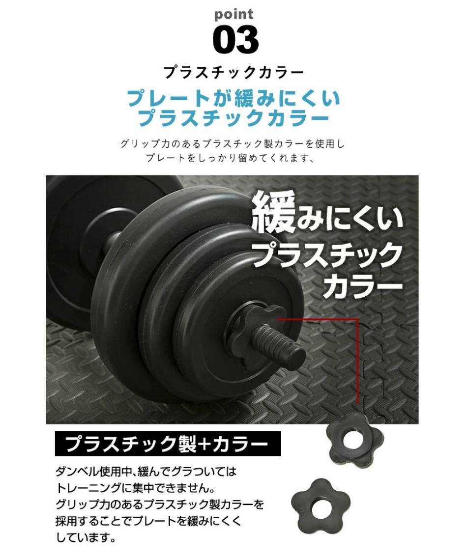 ビジョンクエスト(VISION QUEST) ダンベル PEダンベル10kg VQ580104I31
