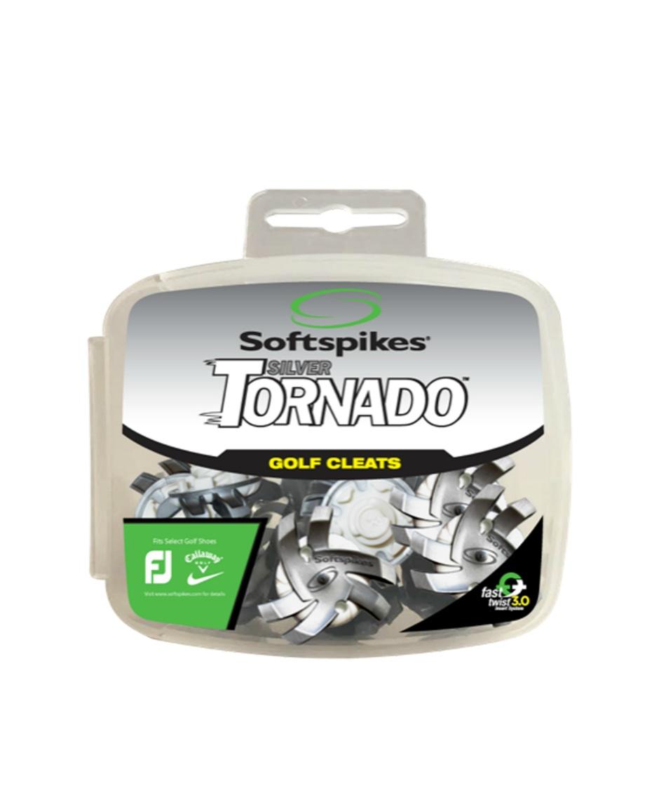 ソフトスパイク(Soft Spike) ゴルフ シューズアクセサリー シルバートルネード FTS3.0 18P