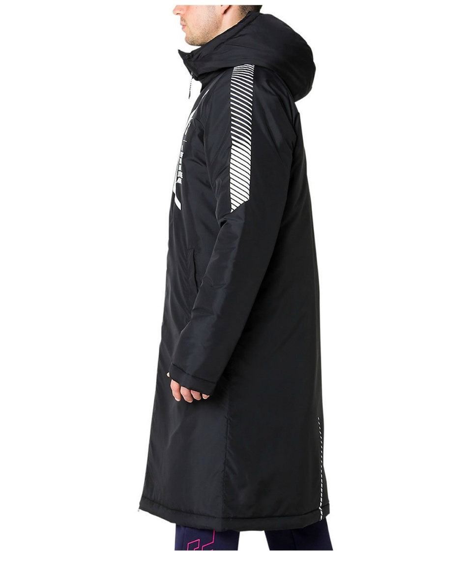 アシックス(asics) LIMOリモ フード中綿ロングコート 2031A891