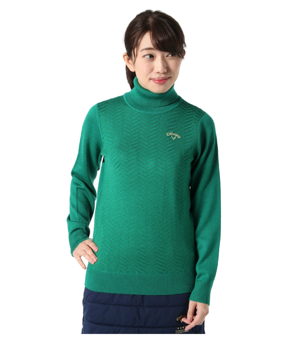 キャロウェイ(Callaway) ゴルフウェア セーター タートルネックニット 241-9260809 【国内正規品】【2019年秋冬モデル】
