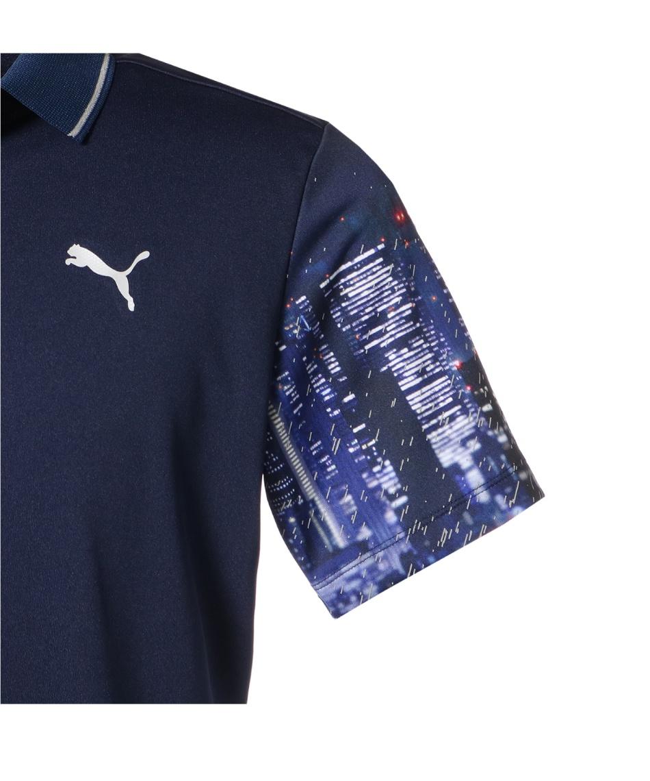 プーマ(PUMA) ゴルフウェア ポロシャツ 半袖 TOKYO NIGHT スリーブ ポロシャツ 半袖 930033