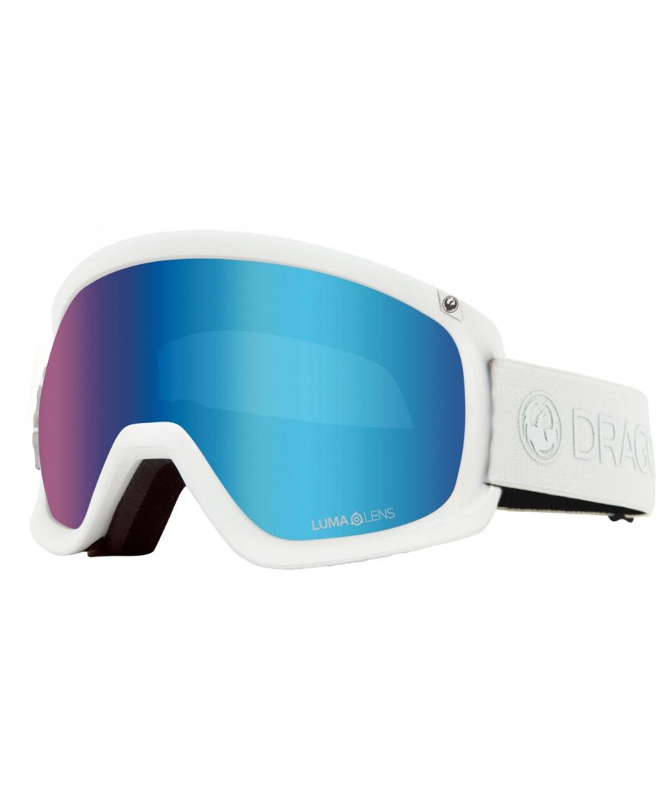 ドラゴン(DRAGON) スキー スノーボードゴーグル 眼鏡対応 メンズ GOGGLE V-D-3 TRUE WHITE 【国内正規品】【20-21 2021モデル】