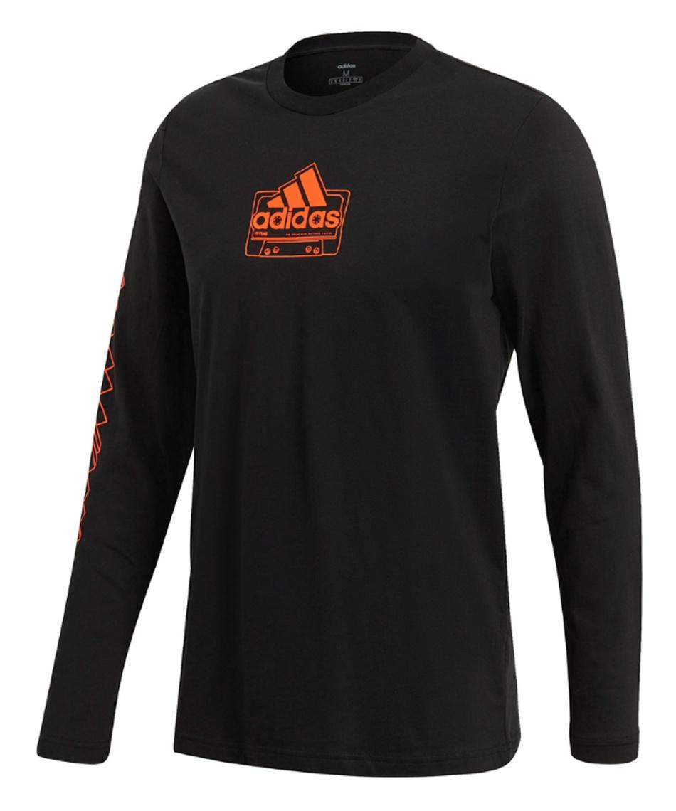 アディダス(adidas) Tシャツ 長袖 カセットテープ 長袖Tシャツ CASSETTE TAPE LONG SLEEVE TEE IXV85