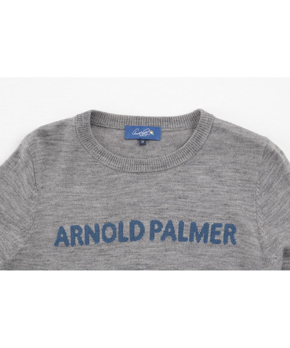 アーノルドパーマー(arnold palmer) ゴルフウェア セーター クルーネックニットセーター AP220404J01 【2020年秋冬モデル】