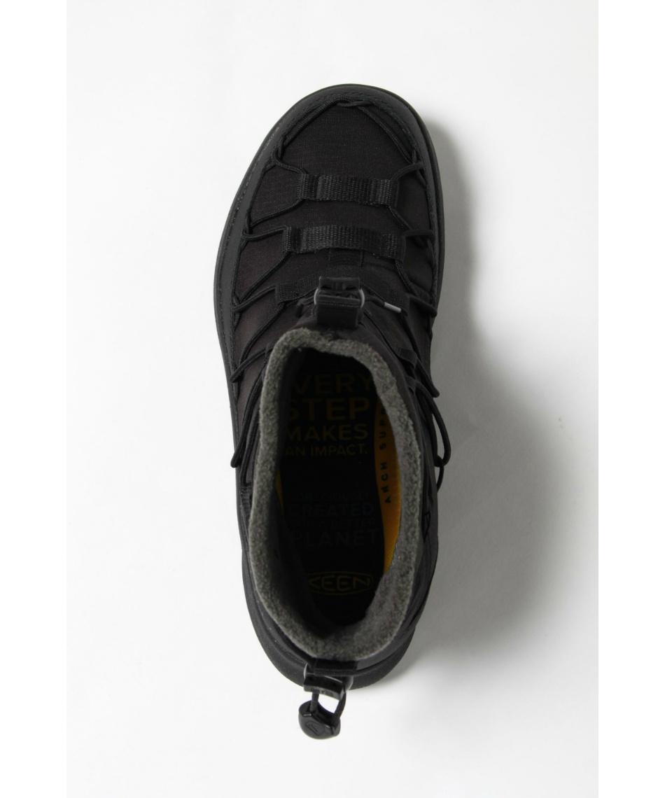 キーン(KEEN) ブーツ ユニーク スニーク チャッカ ウォータープルーフ 防水ウインタースニーカー 1023553 TB/BK