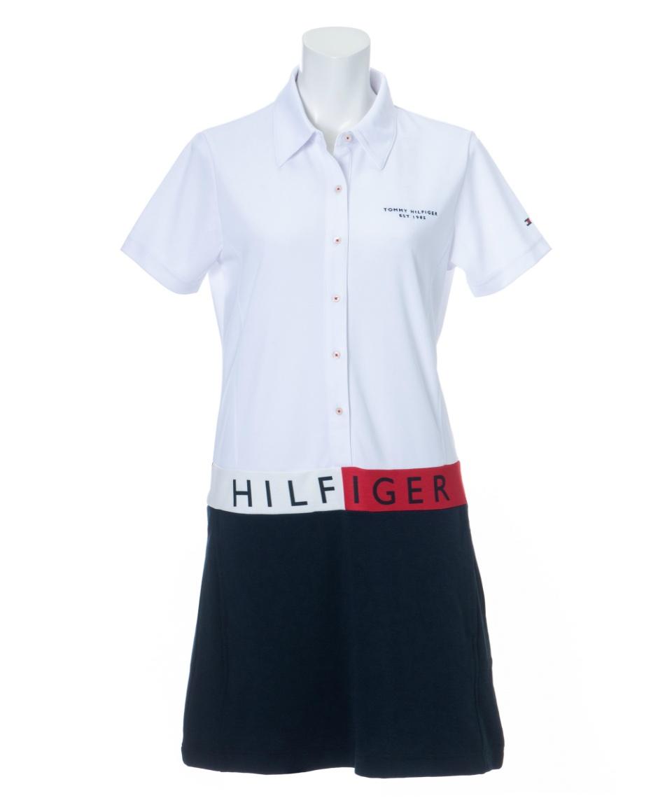 トミーヒルフィガーゴルフ(TOMMY HILFIGER GOLF) ゴルフウェア ワンピース シグネチャーフラッグヒルフィガーワンピース THLA121