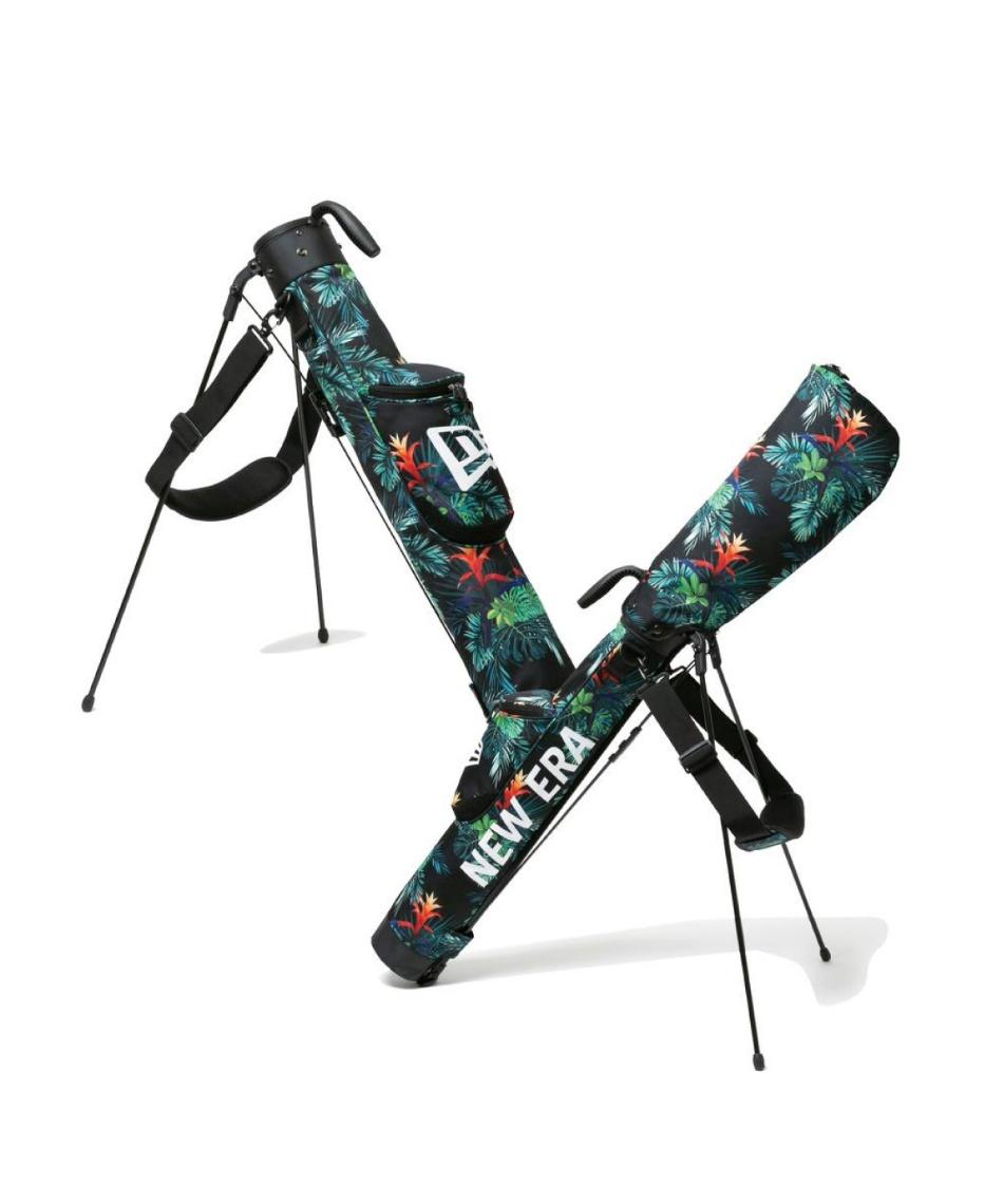 ニューエラ(NEW ERA) スタンドクラブケース ゴルフ セルフスタンドケース ブラックボタニカル 12674060 【国内正規品】
