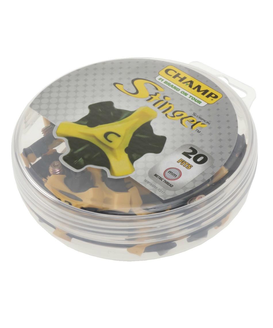チャンプ ( CHAMP ) ゴルフ アクセサリー ScorpionSTINGER スコーピオンスティンガー3 交換用スパイク鋲 36504756402 【2009年モデル】