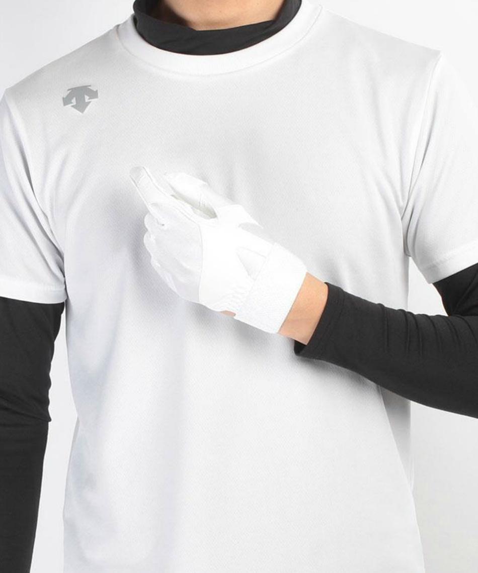 デサント ( DESCENTE )  左手用 学生用パッド付き守備用グラブ 高校野球ルール対応 C-326L