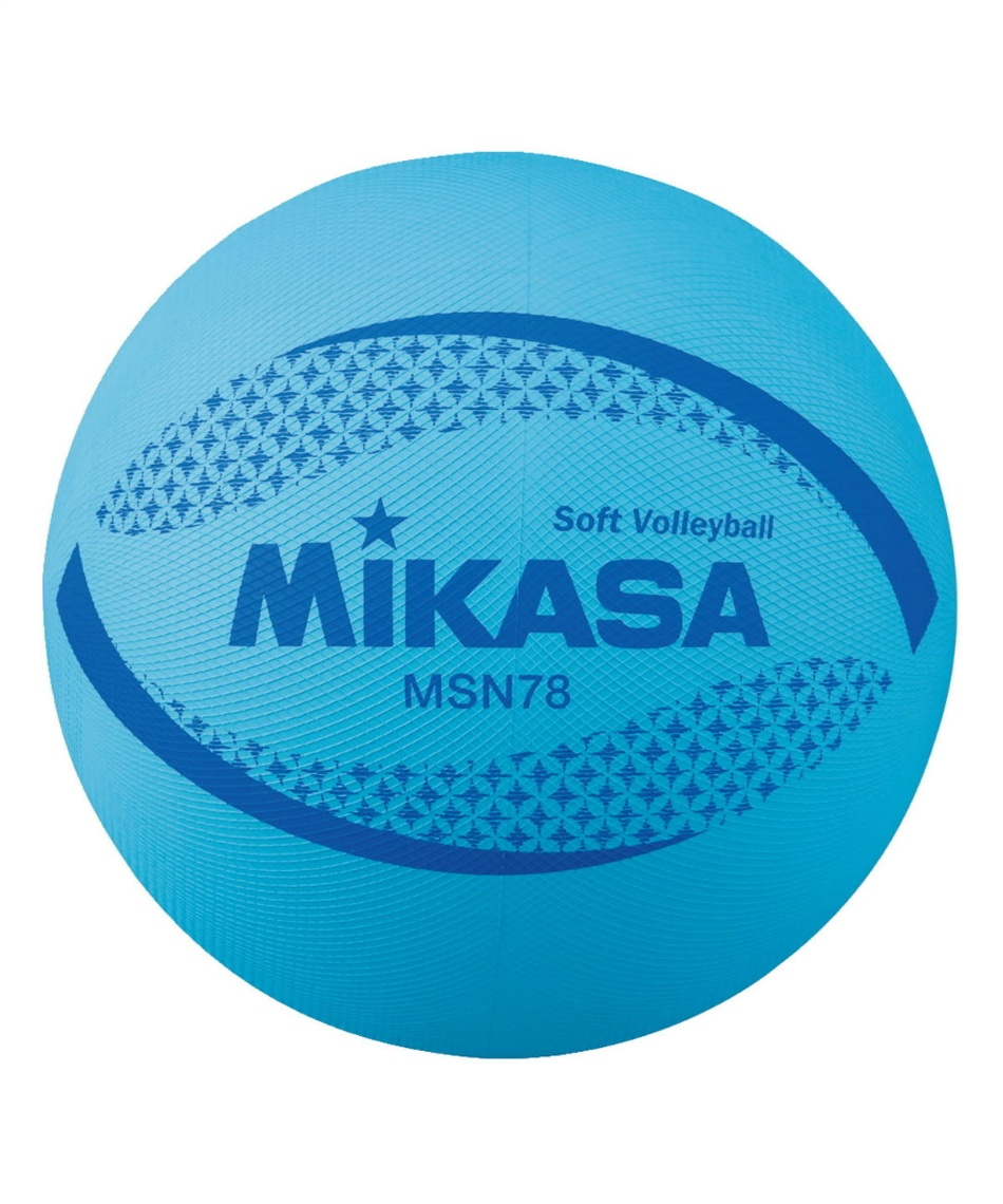 ミカサ(MIKASA) ソフトバレーボール 円周78cm 約210g MSN78 BL