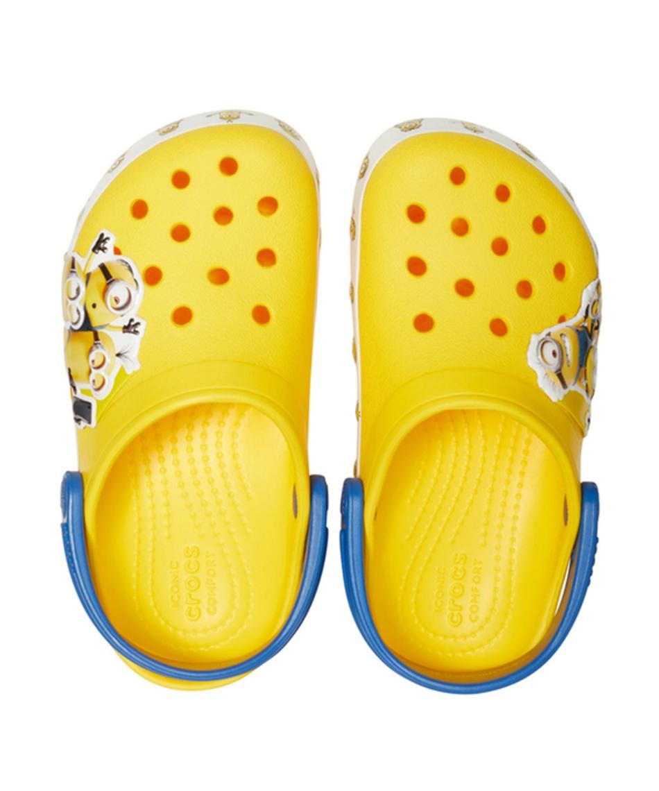 クロックス(crocs) サンダル fun lab Minions multi clog kids ファン ラブ ミニオンズ マルチ クロッグ キッズ 205512-730 【国内正規品】