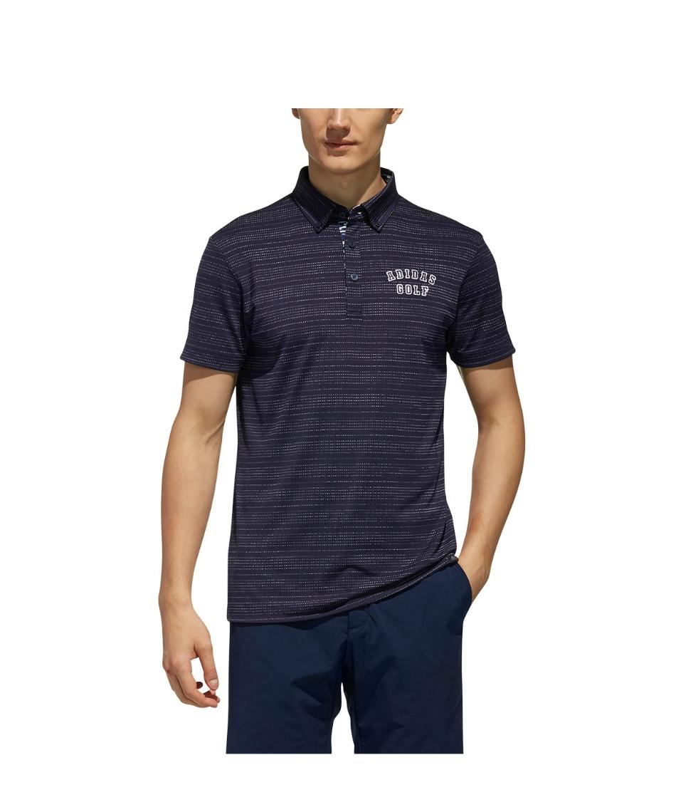 d55db8978e387 アディダス(adidas) ゴルフウェア ポロシャツ 半袖 ADICROSS アディクロス ドットストライプ S/S. MYTITLE