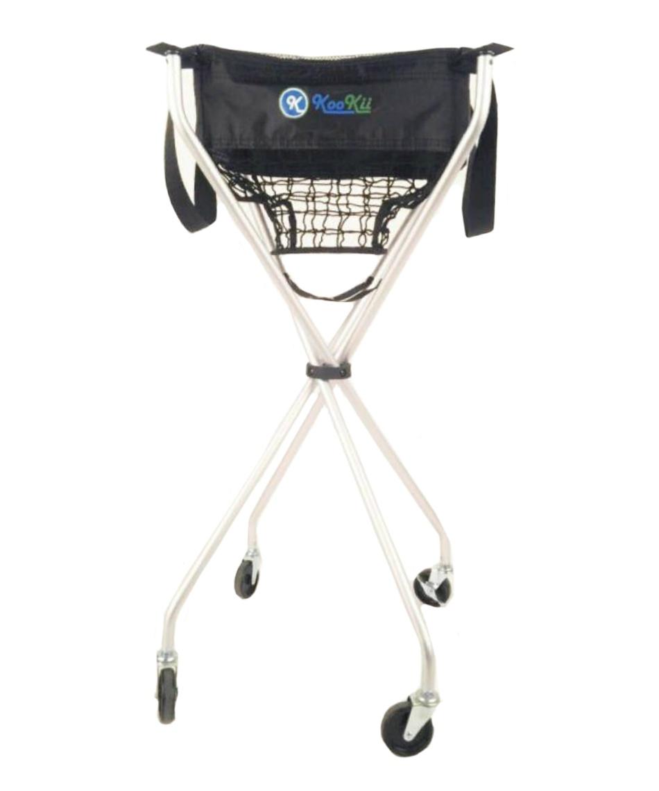kookii テニス ボールかご テニス用ボールキャリー 折畳式キャスター付き SPJ-001-01