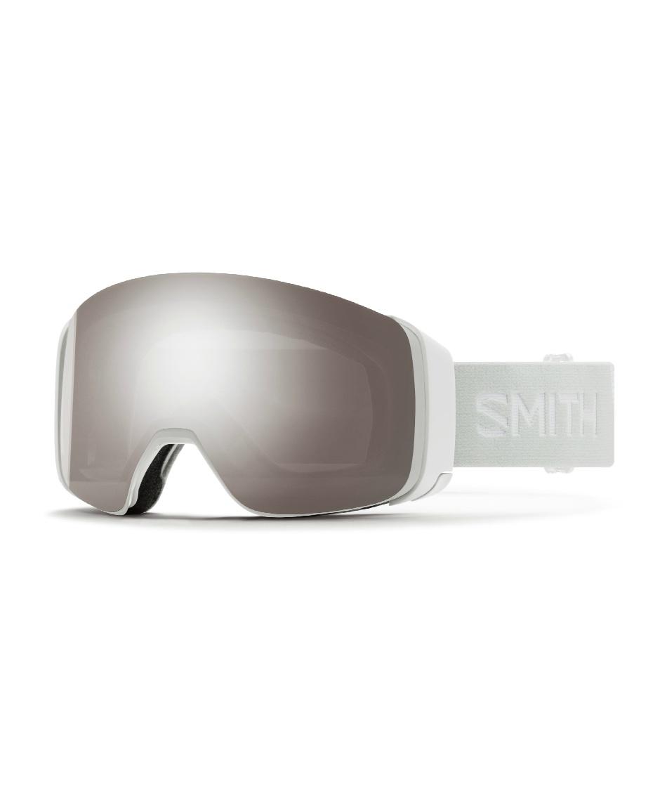 スミス(SMITH) スキー スノーボードゴーグル GOGGLE スペアレンズ付 U-4D MAG WH VAPOR