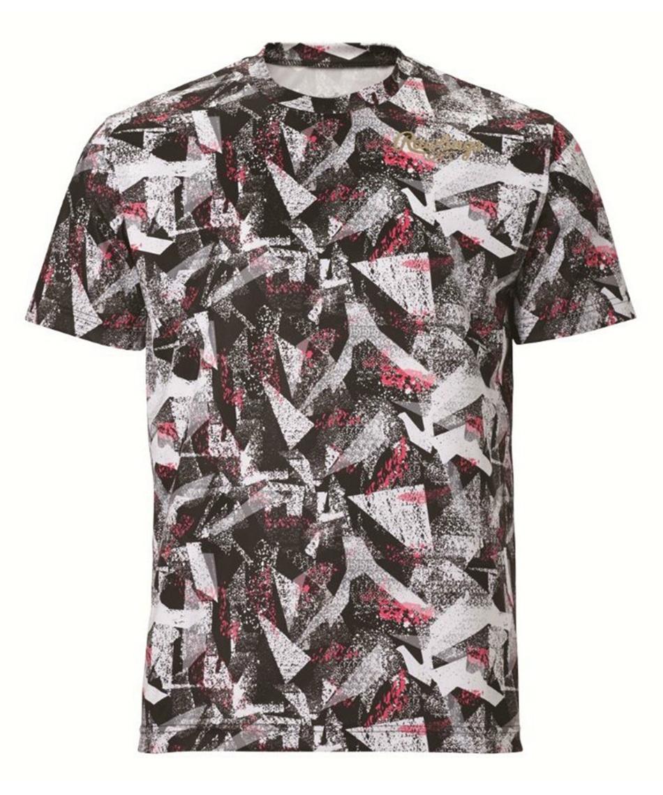 ローリングス(Rawlings) 野球ウェア 半袖Tシャツ コンバット トライアングルTシャツ AST10S02