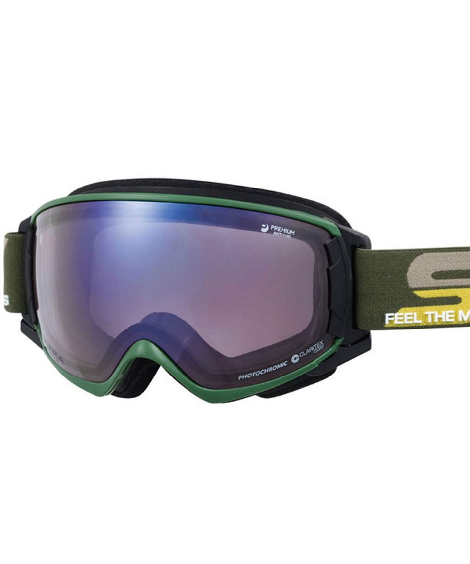 スワンズ(SWANS) スキー スノーボードゴーグル 調光ULTRAレンズ V-ROVO-MDH-CU 【20-21 2021モデル】