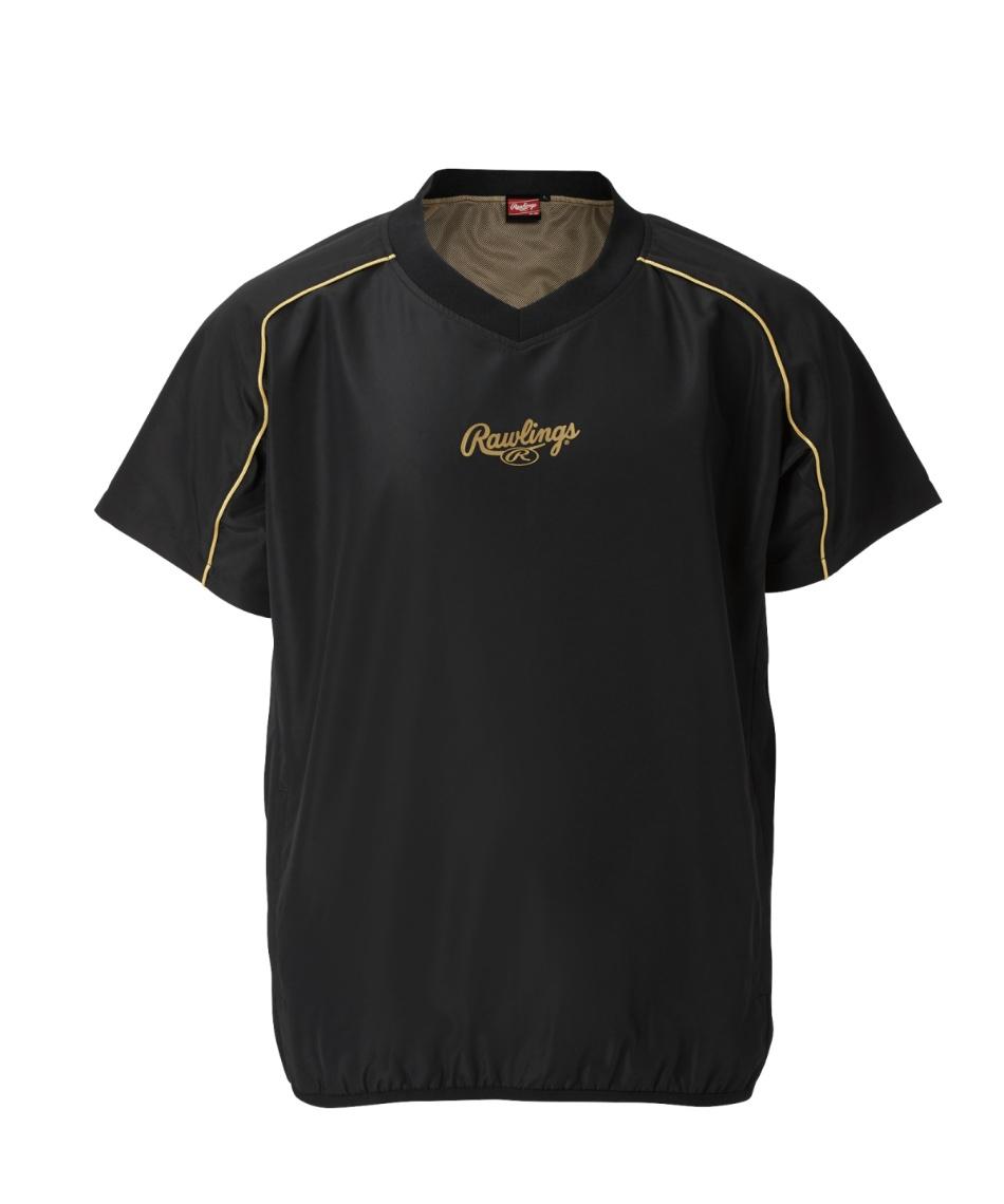 ローリングス(Rawlings) 野球 ウインドブレーカージャケット コンバット03 半袖ウインド裏メッシュ AOS10F05