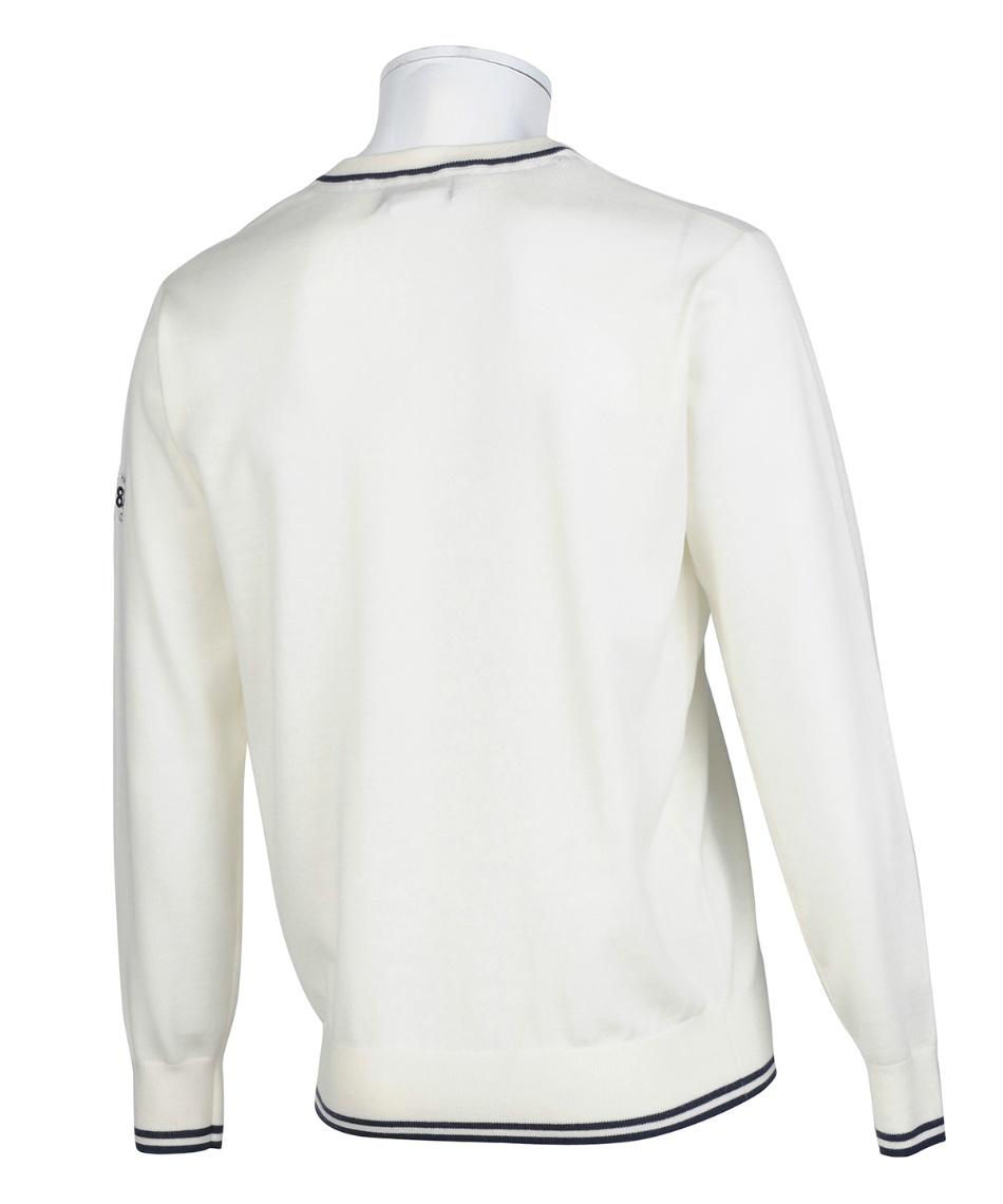 ルコック(le coq sportif) ゴルフウェア セーター Vネックセーター QGMQJL04 【2020年秋冬モデル】