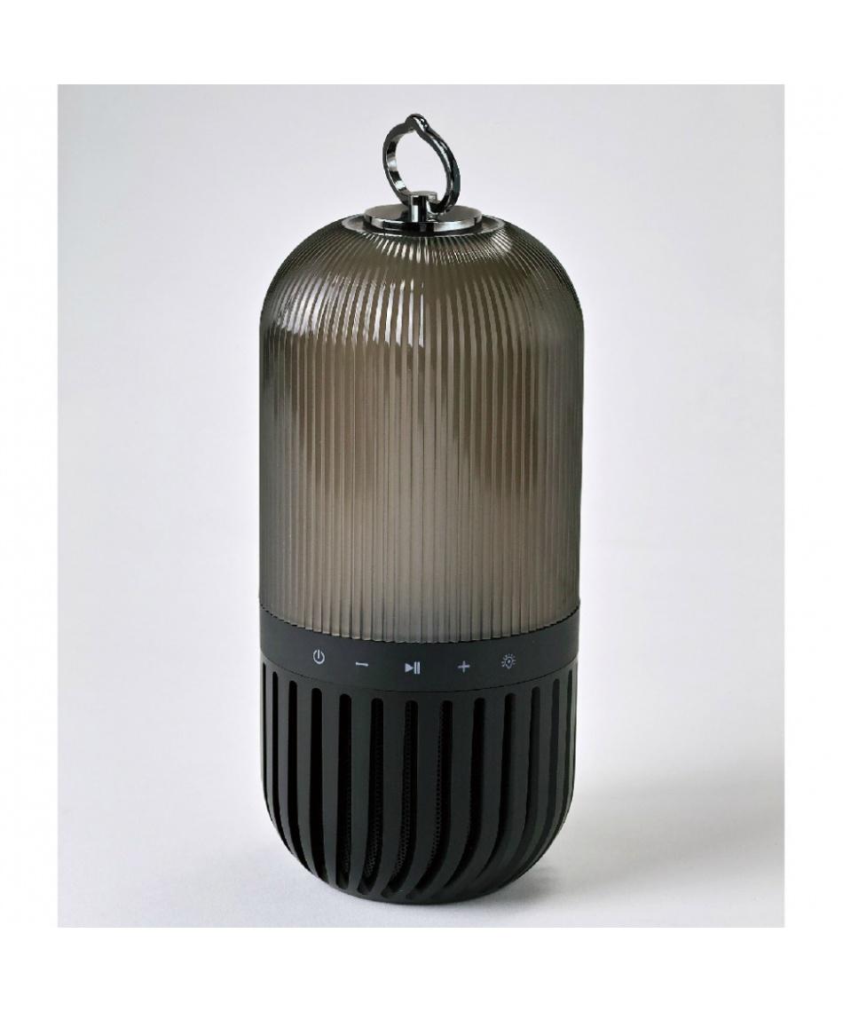スパイス(SPICE) ランタン バッテリーランタン ゆらぎカプセルスピーカー ブラック CS2020BK