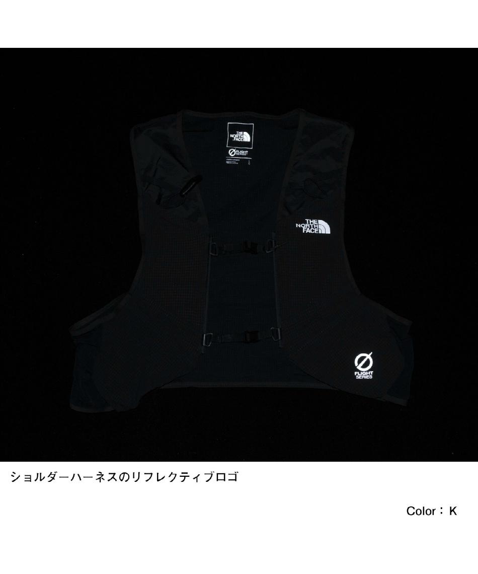 ノースフェイス(THE NORTH FACE) ベスト型バッグ フライトレースデイベスト8 Flight Race Day Vest 8 NM62109 K 【国内正規品】