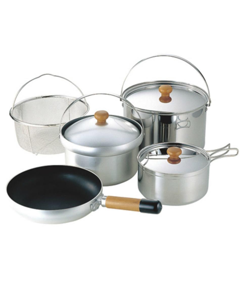 ユニフレーム ( UNIFLAME ) 調理器具セット 鍋 フライパン fan5 DX 660232