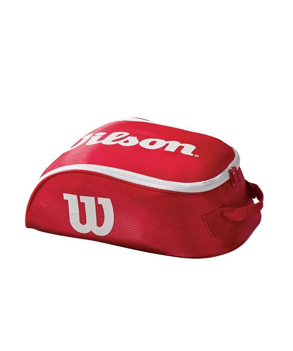 ウイルソン ( Wilson )  シューズケース TOUR IV SHOE BAG RDWH ツアー シュー バッグ WRZ847887 【国内正規品】