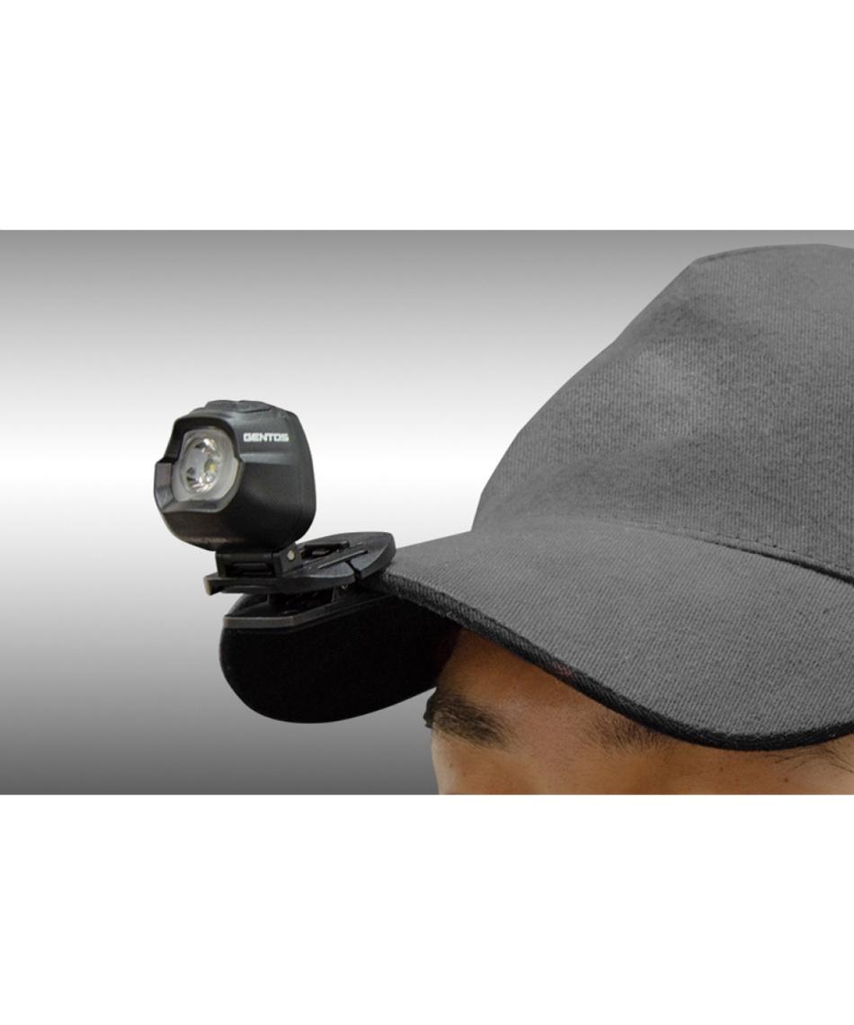 ジェントス(GENTOS) ヘッドライト 小型ヘッドライト クリップヘッドライト HC-24BK