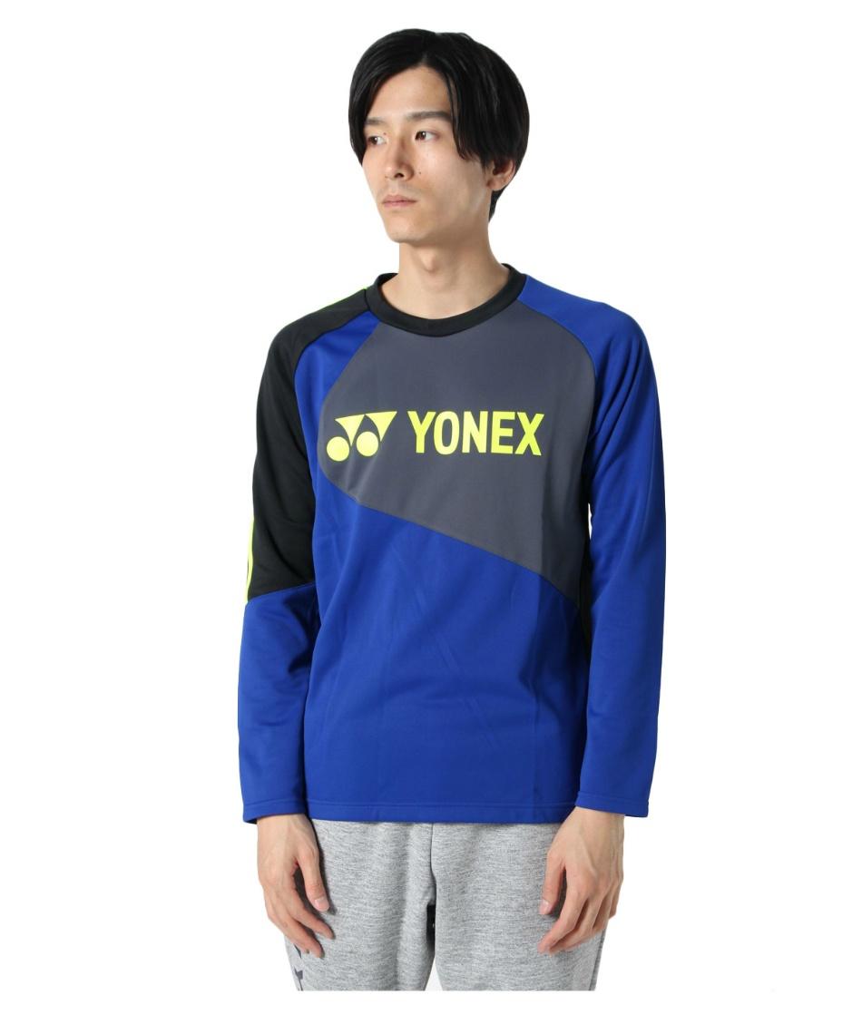 ヨネックス(YONEX) テニスウェア スウェットトレーナー ライトトレーナー フィットスタイル 31034