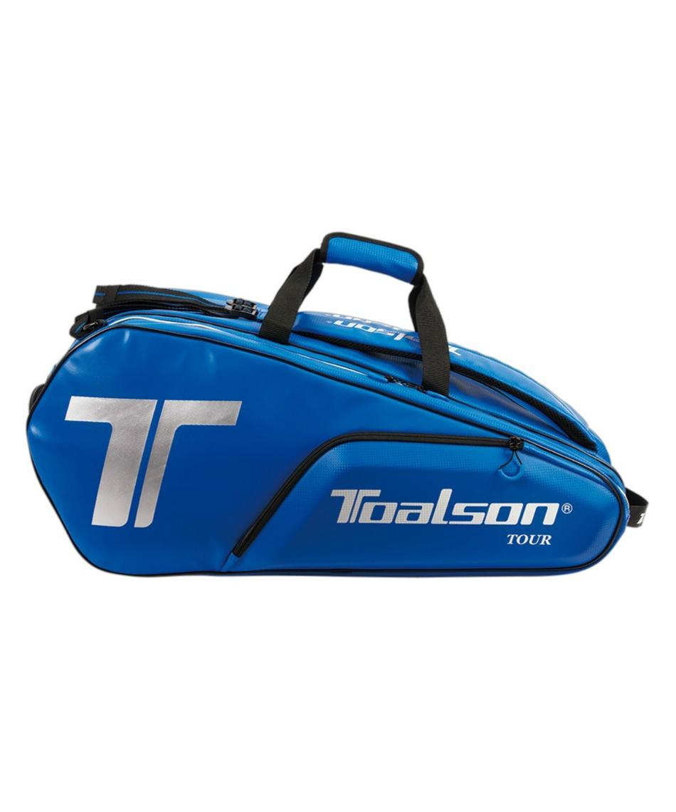 トアルソン(TOALSON) テニス バドミントン ラケットバッグ 10本用 ツアーバッグ TOUR BAG 1FT1801B