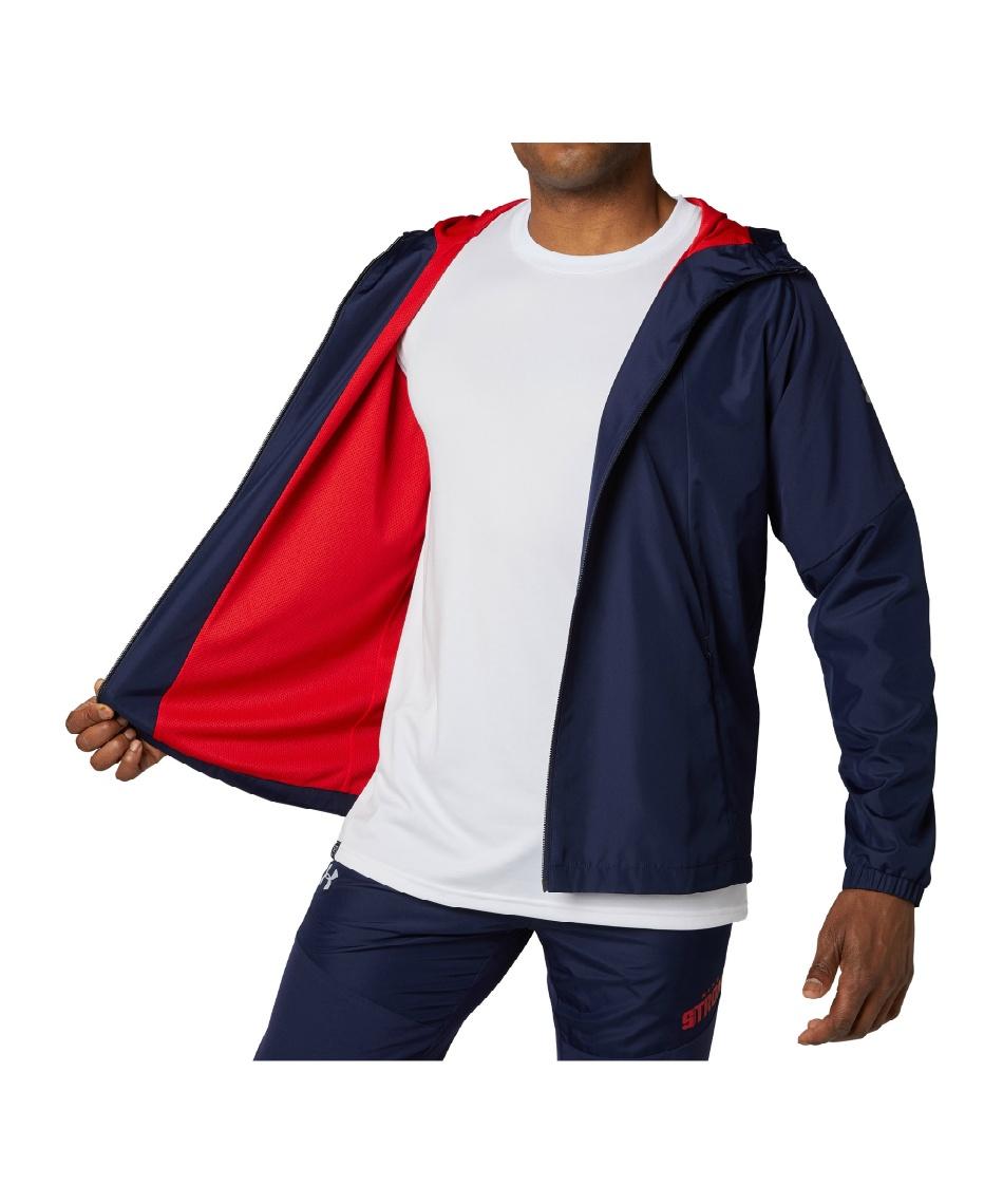 アンダーアーマー(UNDER ARMOUR) 野球 ウインドブレーカージャケット UA 9ストロング ストレッチウーブン ジャケット 1346878 410