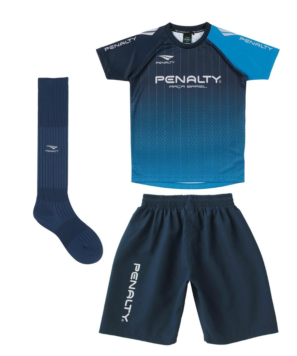 ペナルティー(Penalty) サッカーウェア プラクティスシャツ 上下セット 3点セット PU0200J