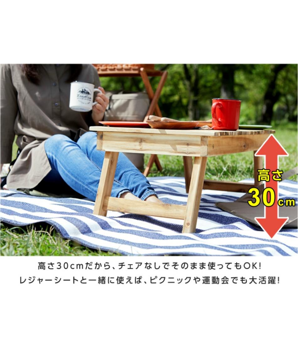 ビジョンピークス(VISIONPEAKS) アウトドアテーブル 78cm クーラーボックス スタンドテーブル VP160402J02