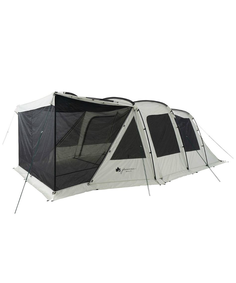 ロゴス(LOGOS) テント 3ルームテント グランベーシック 3ルームトンネルドーム WXL-BJ 71805545