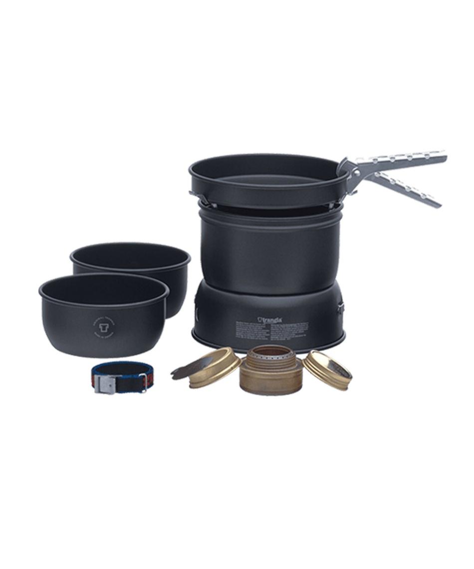 トランギア(trangia) 調理器具 鍋 セット ストームクッカーS ブラックバージョン TR-37-5UL