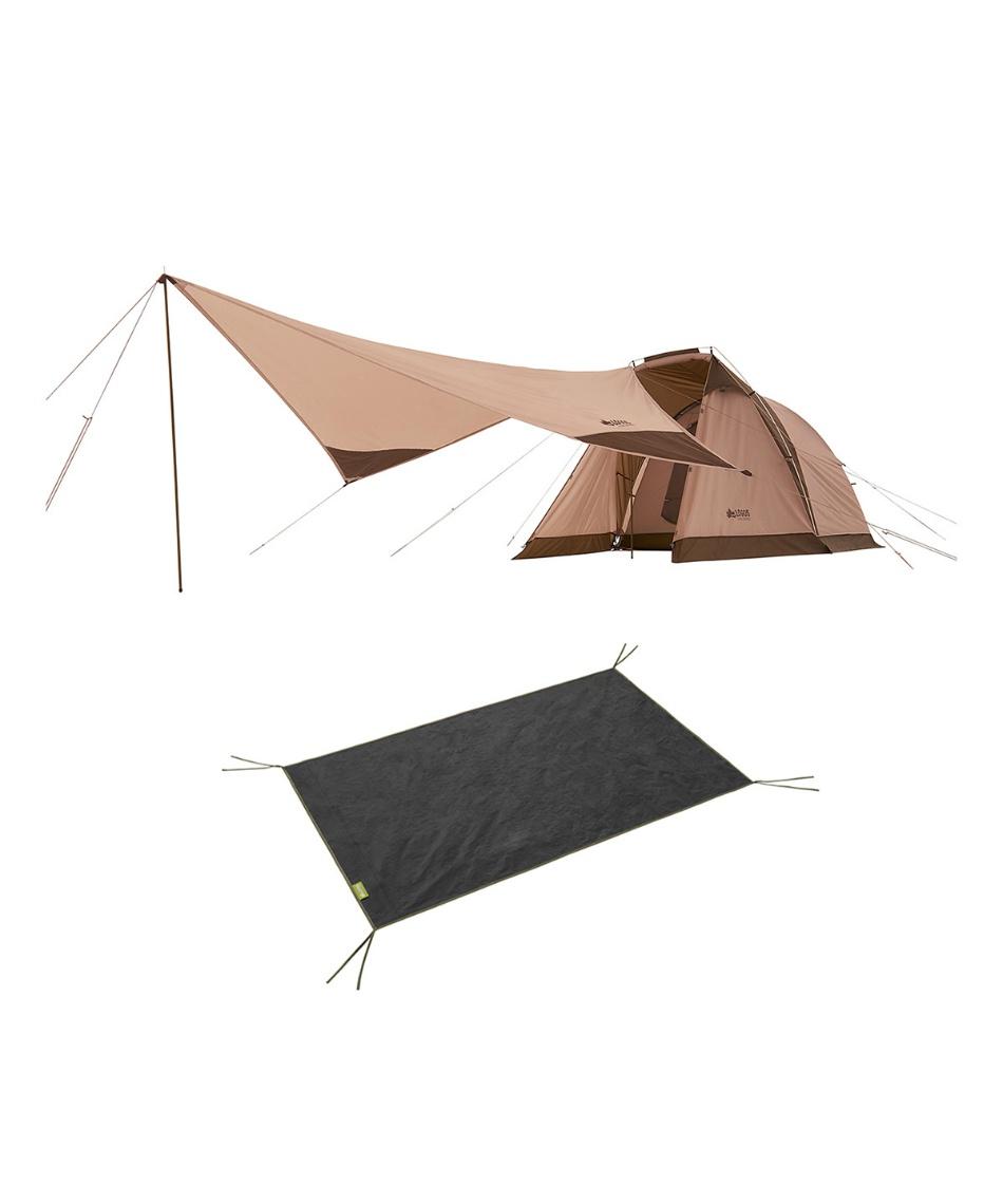 ロゴス(LOGOS) テント 小型テント Tradcanvas リビングDUO&タープセット 71805593