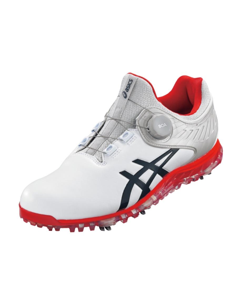 アシックス(asics) ゴルフシューズ ソフトスパイク ゲルエース プロ 5 ボア 1111A180 101 【2021年モデル】