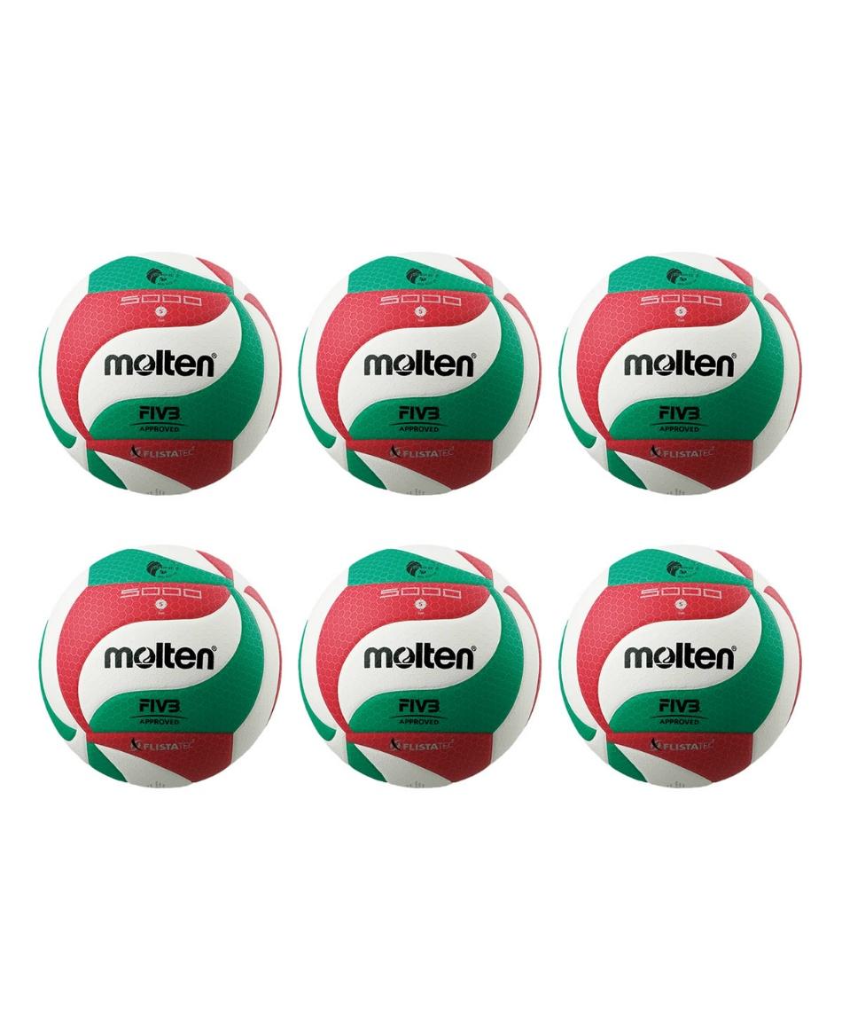 モルテン(molten) バレーボール 5号球 フリスタテック 国際公認球 検定球 V5M5000