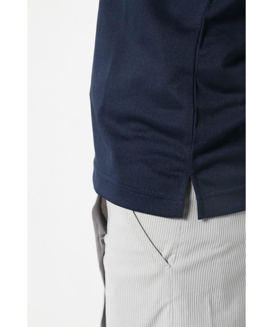 オプスト(OPST) ゴルフウェア 半袖ポロ インナーセット ワッペン半袖シャツ + 脇メッシュUネック OP220301J01 + OP220310I03