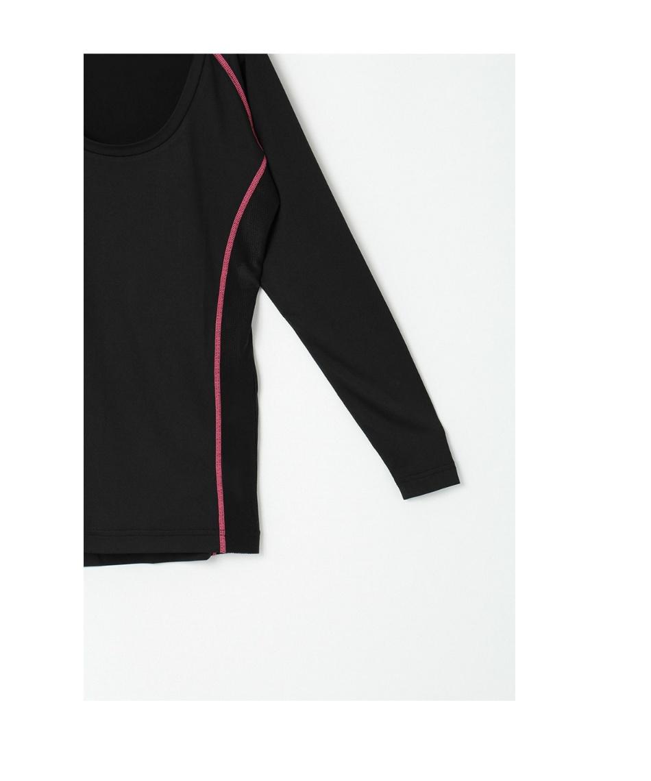 オプスト(OPST) ゴルフウェア 半袖ポロ インナーセット ストライプ半袖シャツ + 脇メッシュUネック OP220301J04 + OOP220310I03