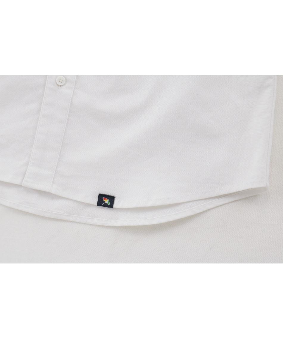 アーノルドパーマー(arnold palmer) ゴルフウェア 2点セット 撥水ストレッチシャンブレー長袖シャツ + ケーブルニットセーター AP220202J04 + AP220204J01