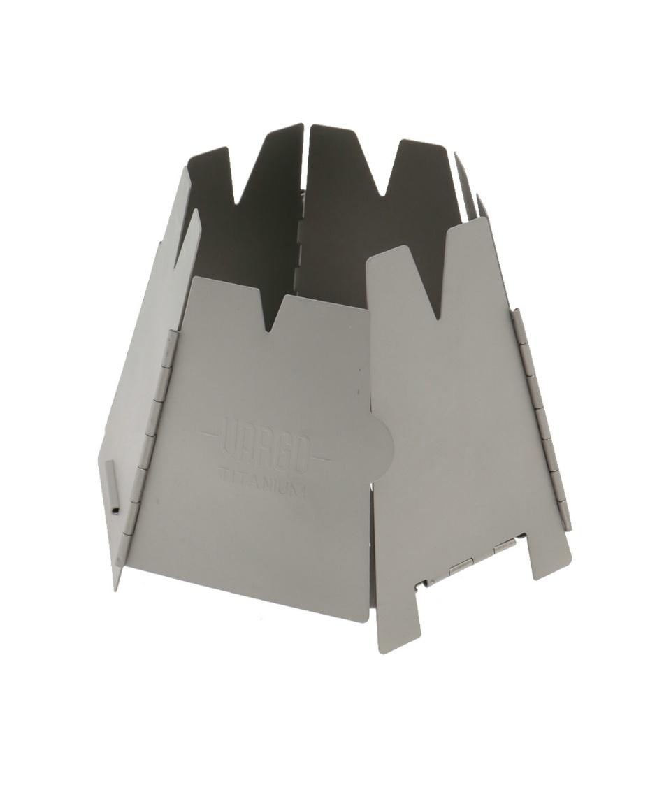 バーゴ ( VARGO ) ネイチャーストーブ チタニウムヘキサゴンウッドストーブ T-415