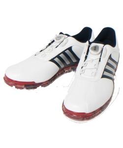 130c4df2e2bc0 アディダス ( adidas ) ゴルフ ソフトスパイク PURE METAL BOA PLUS ピュアメタル ボア プラス Q44895