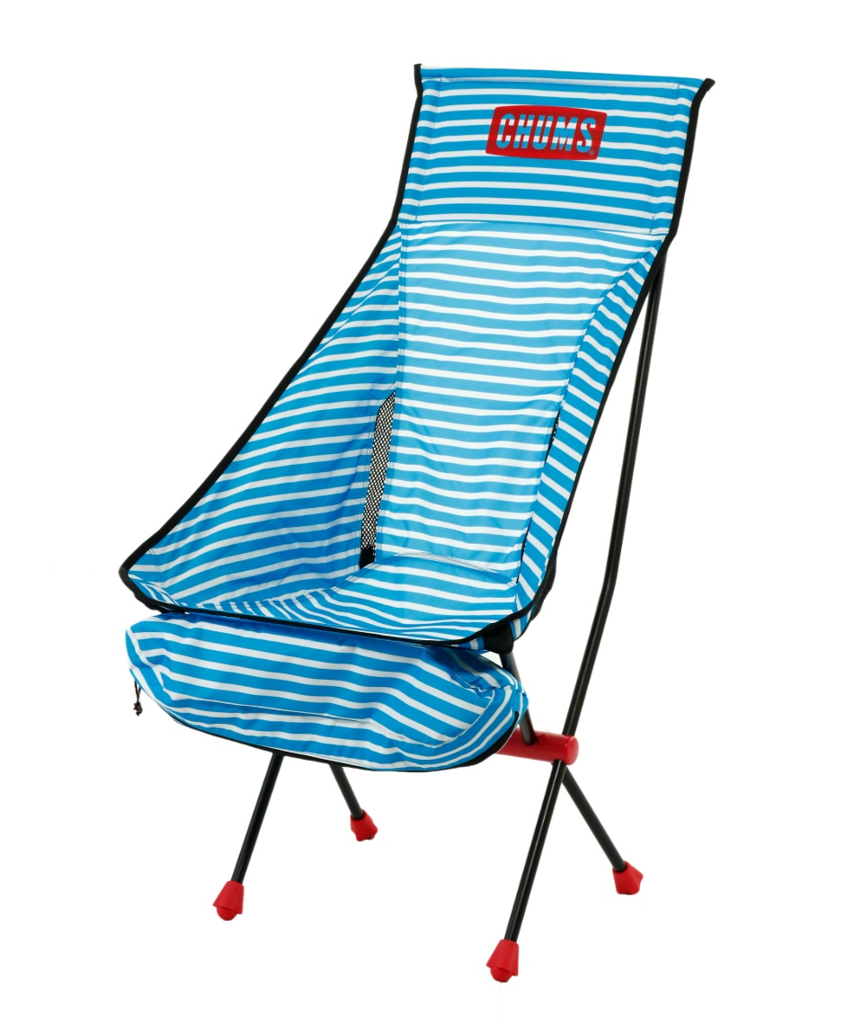 チャムス ( CHUMS ) アウトドアチェア Folding Chair Booby Foot High フォールディングチェアブービーフットハイ CH62-1171