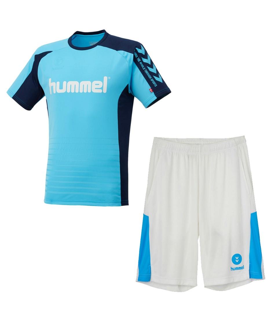 ヒュンメル(hummel) サッカーウェア プラクティスシャツ 上下セット Tスーツ HJY1142SP