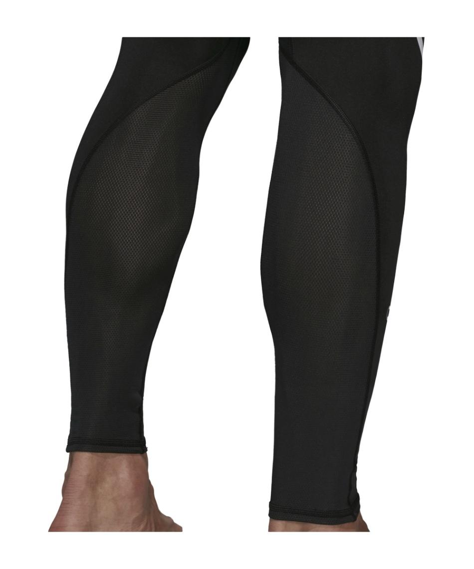 アディダス(adidas) ロングタイツ アルファスキン チーム スリーストライプスロングタイツ FSD99