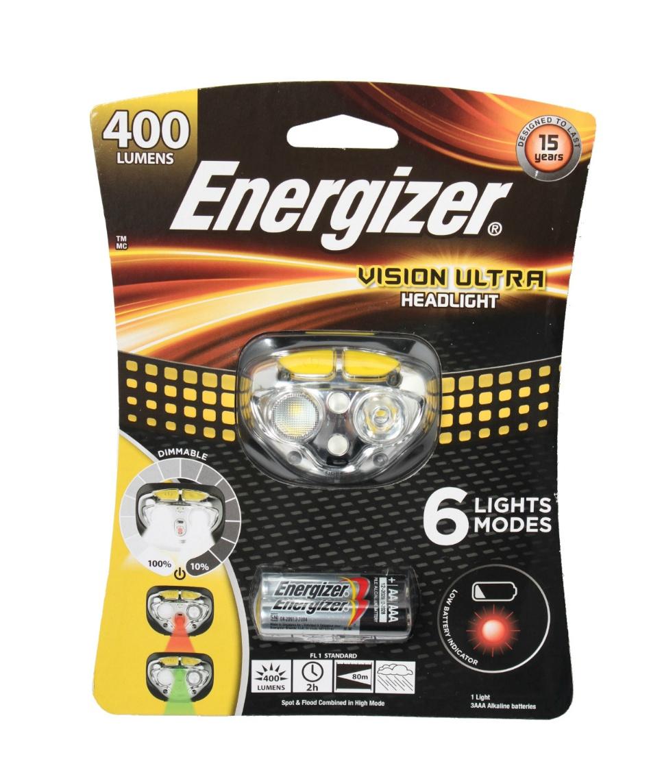 エナジャイザー(Energizer) ヘッドライト LEDライト HDL400